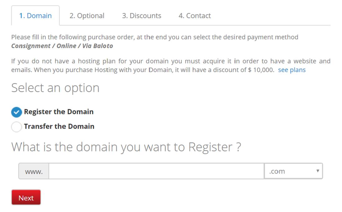 Ofrece dominios gratis y de pago con más creatividad y posicionamiento en el mercado