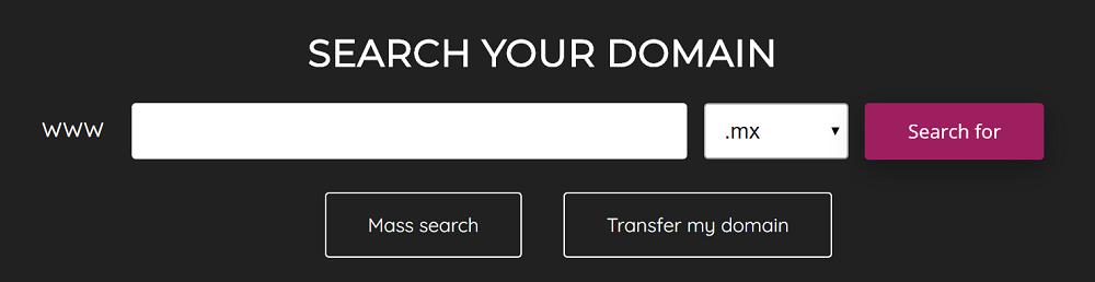 Los nombres de los dominios son muy importantes en los proyectos webs