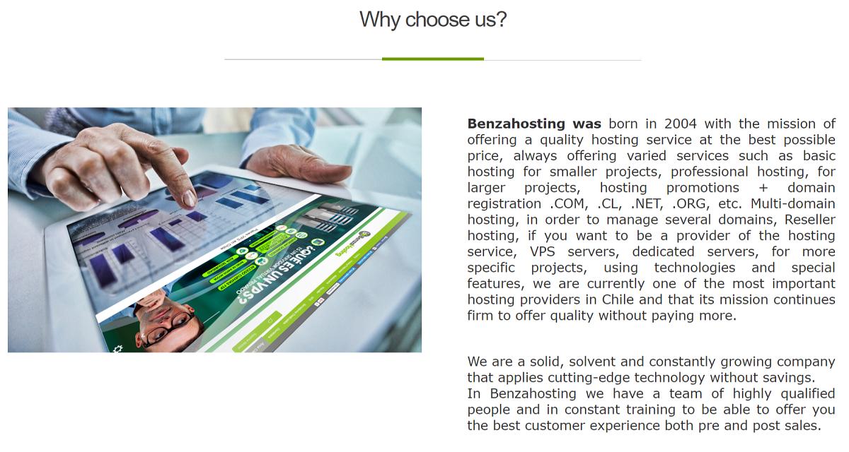 Es un buen proveedor de servicios de alojamiento para páginas web en Chile