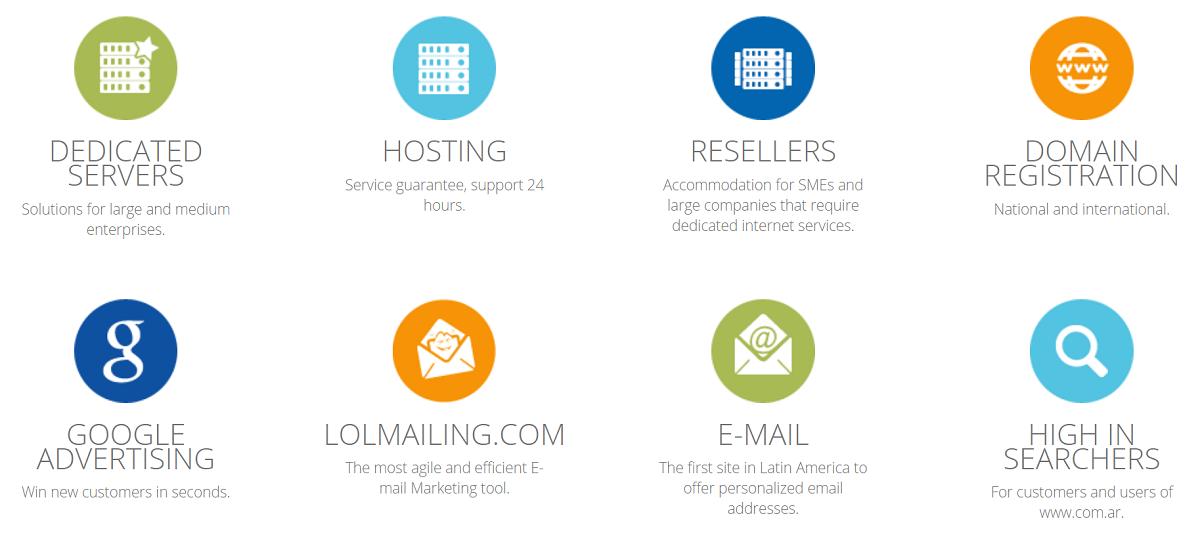 Es importante elegir un hosting que ofrezca un servicio y servidores de calidad como el que brinda este proveedor