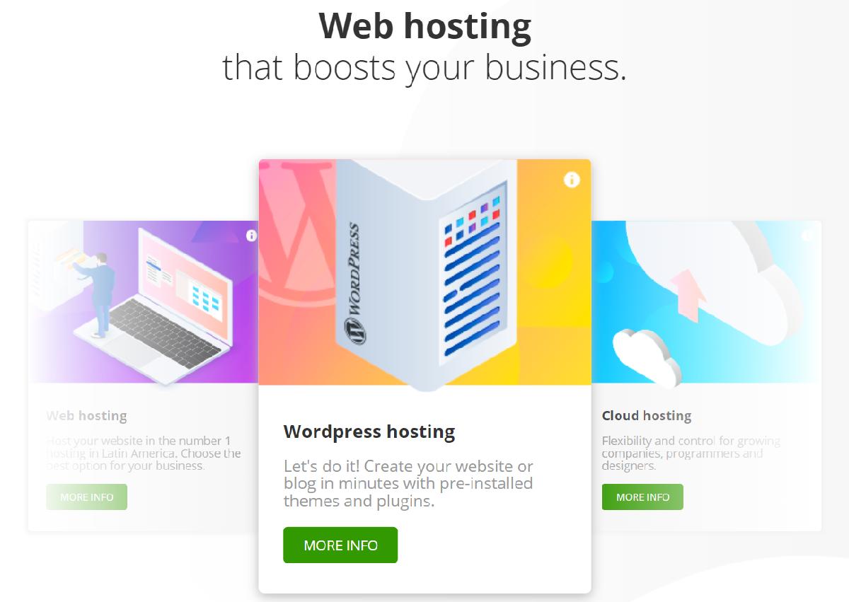 Donweb ofrece un servicio de alojamiento ideal para comenzar un proyecto web sin tener mucha experiencia en el tema