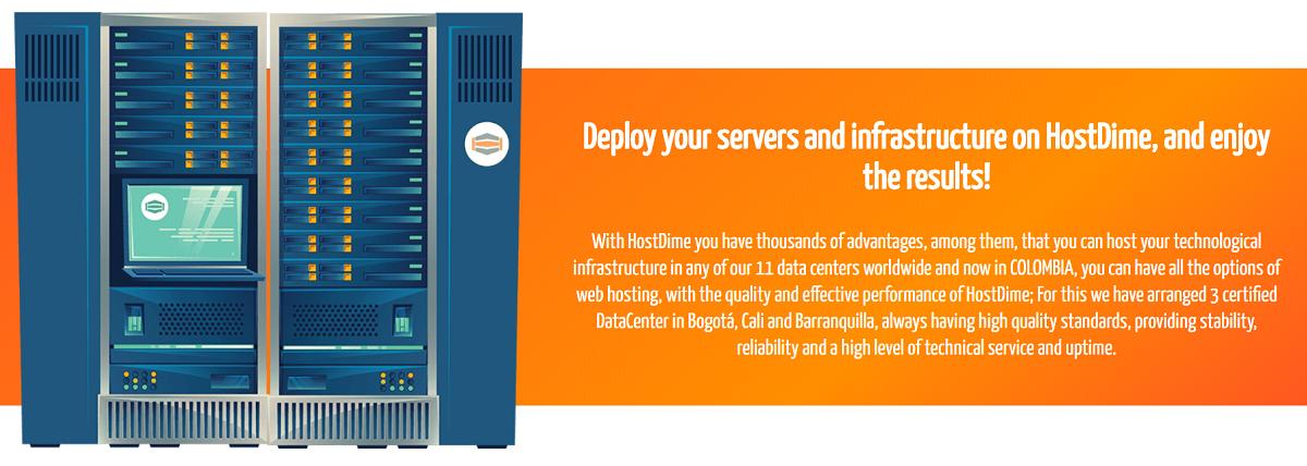 HostDime es un proveedor de hosting o alojamiento orientado a empresas o personas que requieran servidores para proyectos avanzados