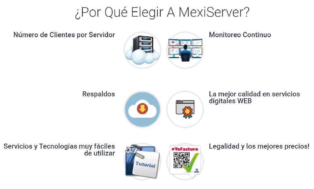 Es importante elegir un hosting que ofrezca un servicio y servidores de calidad