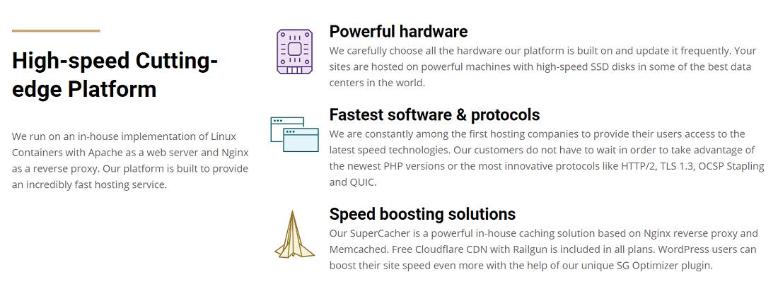 La elección de un hosting adecuado como Siteground es de vital importancia para cualquier proyecto personal o un negocio online