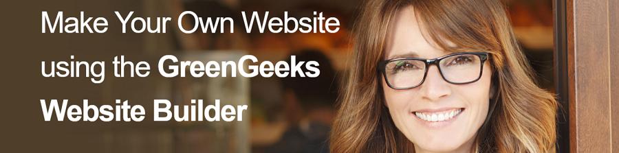 Greengeeks cuenta con su propio servicio de website builder a muy buen precio