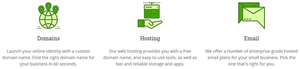 Lunarpages ofrece diferentes servicios en su página web a sus clientes