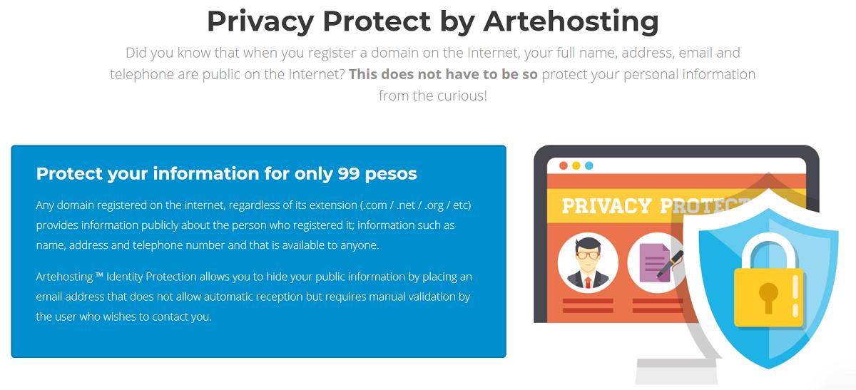 Con Privacy Protect podrás ocultar tu información pública de manera eficiente