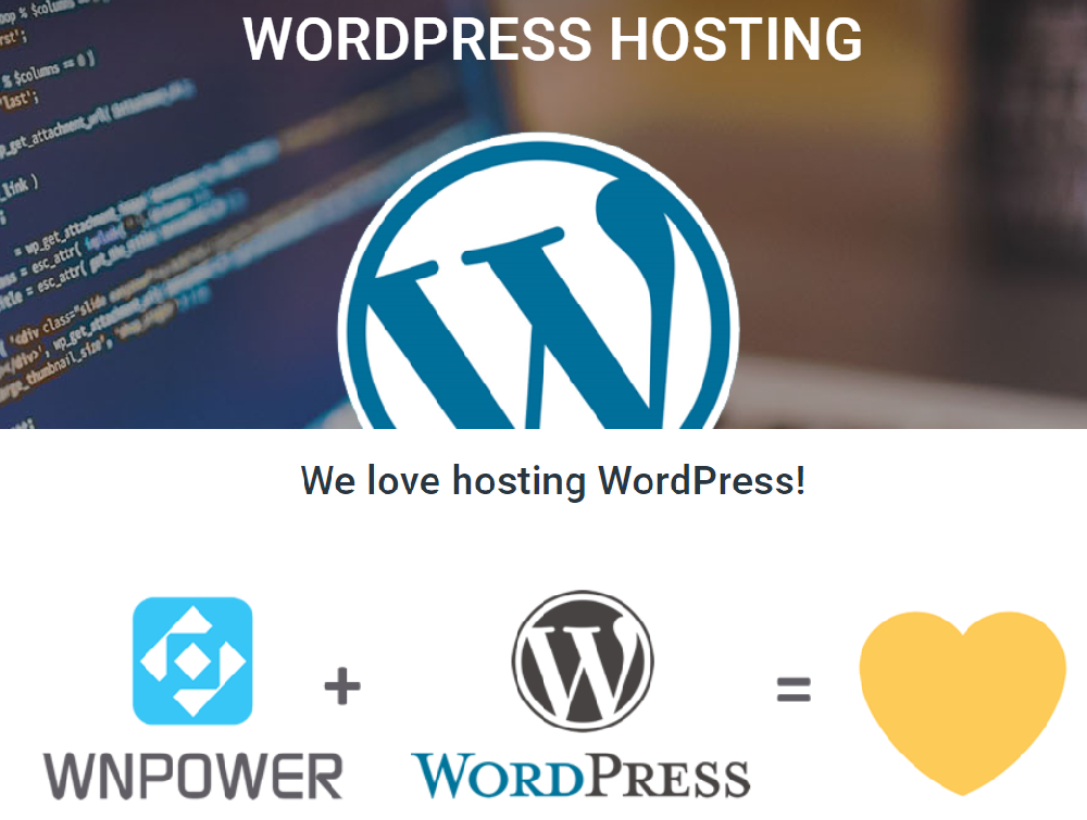 WNPower desarrolló un Hosting WordPress que llenara las expectativas pensadas inicialmente para WordPress