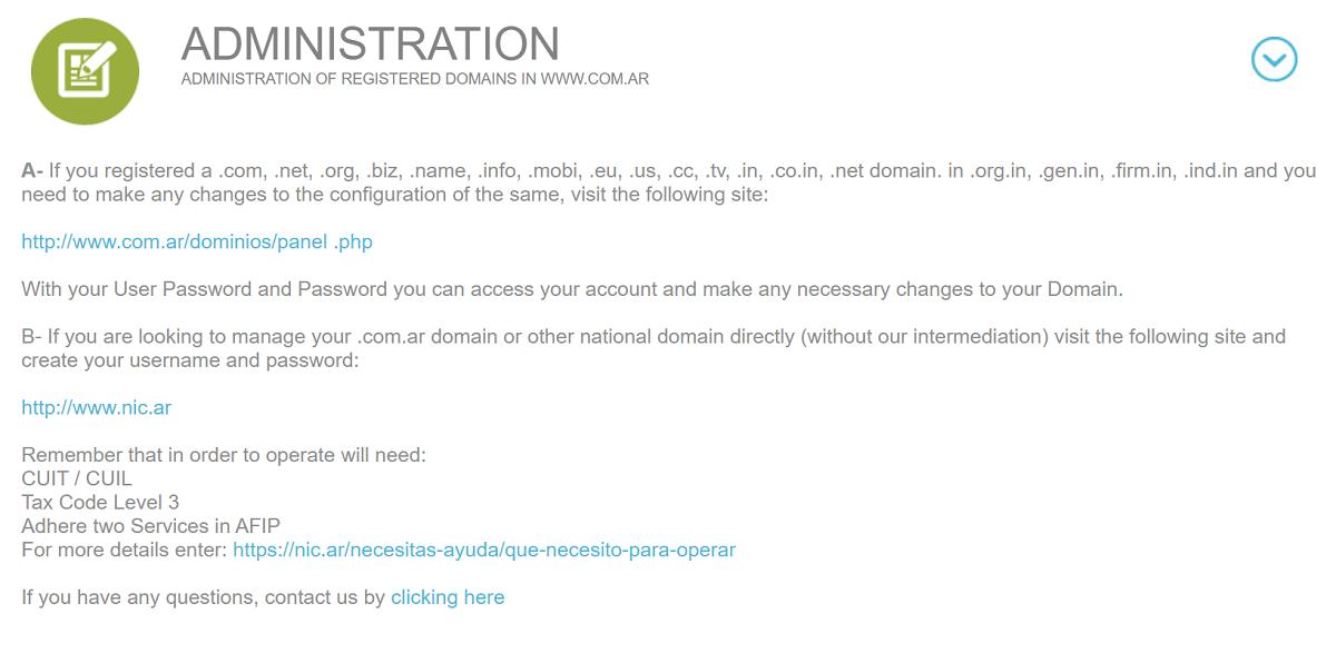 Las transferencias de dominio puedes hacerlas desde el panel de administración de dominios, no importara qué dominio hayas escogido