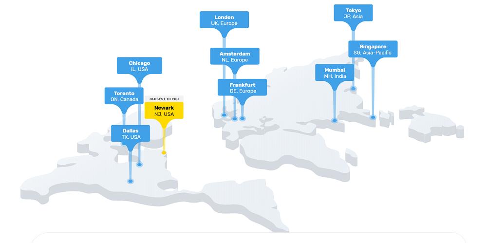 FastComet os ofrece servicio de calidad internacional, cuenta con centros de datos en todo el mundo