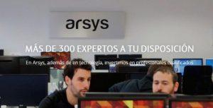 Arsys cuenta con un servicio completo de expertos preparados para atenderte.