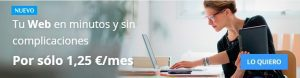 La opción de alojamiento Multisitio está disponible con la contratación de este proveedor.