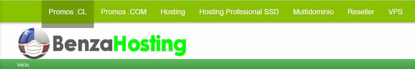 Benza es un proveedor de hosting dirigido a la comunidad chilena.