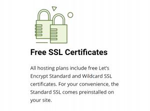 Los Certificados SSL de siteground vienen incluídos con el precio del plan.
