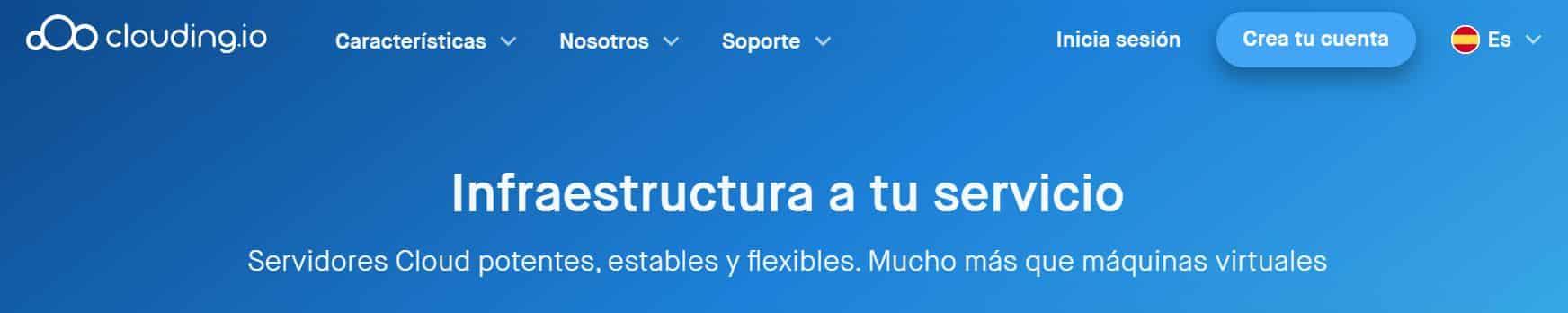 Clouding es un proveedor de hosting de España con buenas opiniones.