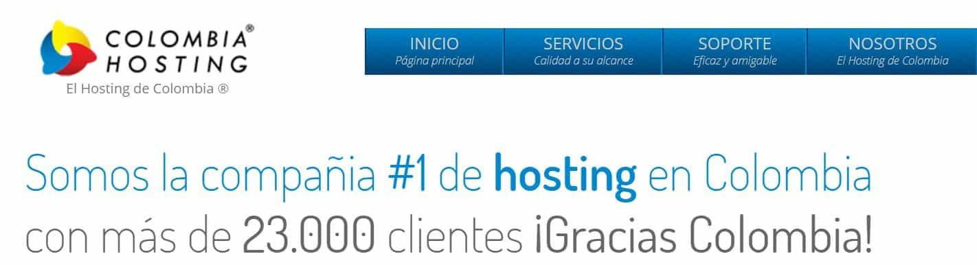 Colombia Hosting es un proveedor de hosting de para este país.