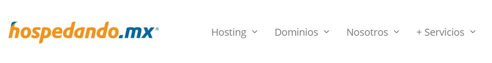 Hospedando es un servicio de hosting dirigido al público mexicano.