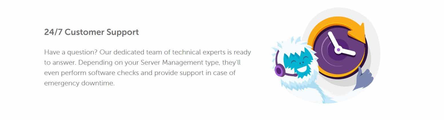 El soporte es fundamental a la hora de instalar unn hosting dedicado.