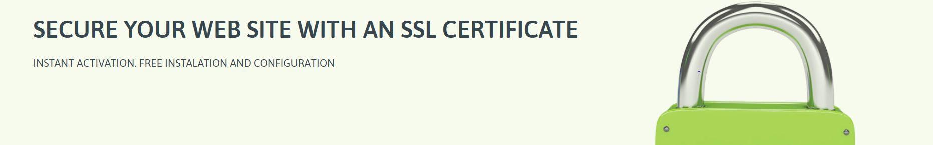 El certificado SSL viene incluido en los planes de hosting ilimitado.