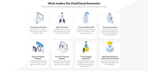 Fastcomet ofrece diferentes planes a sus usuarios de hosting.