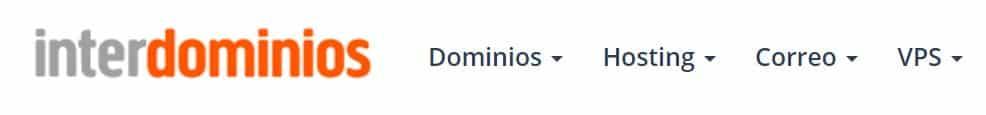 Interdominios es un proveedor de hosting procedente de España