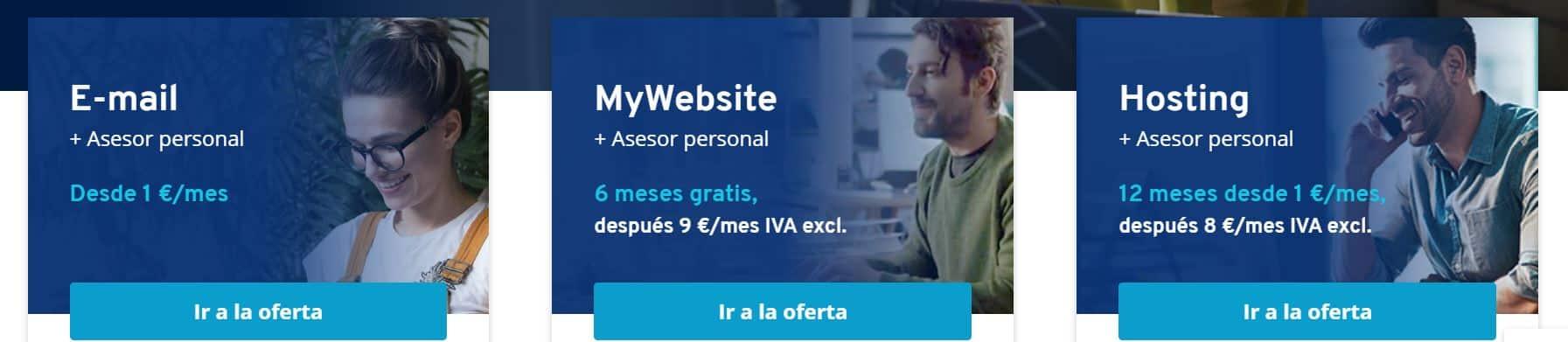 Tratamos un proveedor de dominios y hosting con sede en España