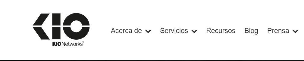 KIO Networks es una empresa de hosting con sede central en Mexico.