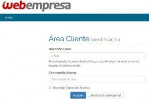 la instalación de Webempresa en tu página web es sencilla y guiada.