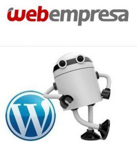 Las aplicaciones de Webempresa son variadas y entre los CMS más populares está WordPress.