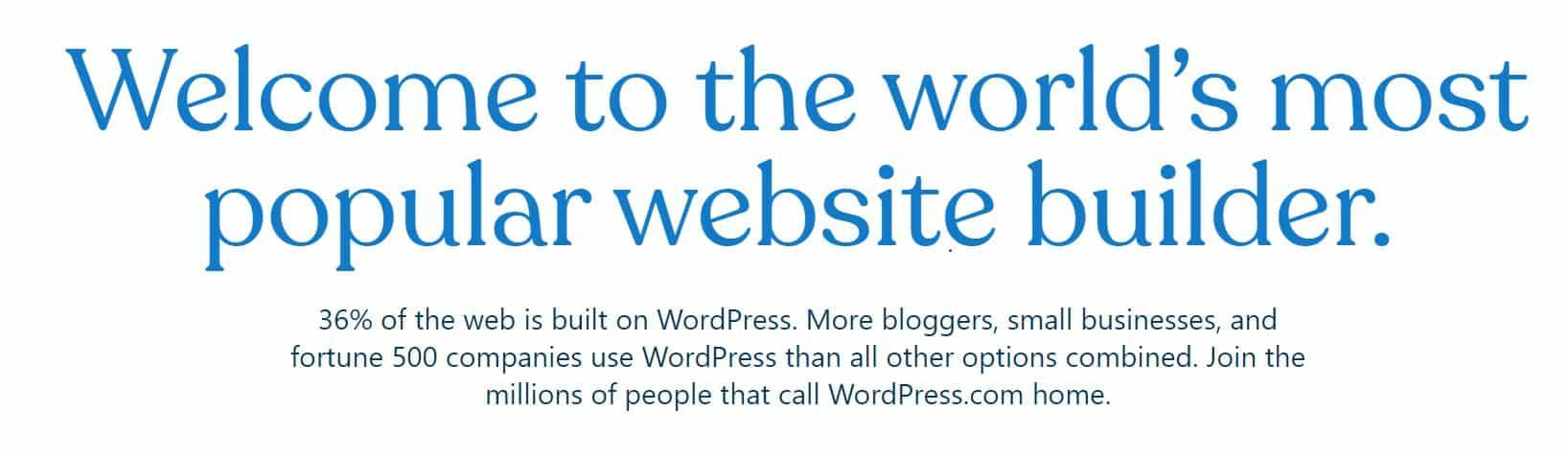 Wordpress es un CMS que funciona con todos los hosting del mercado.