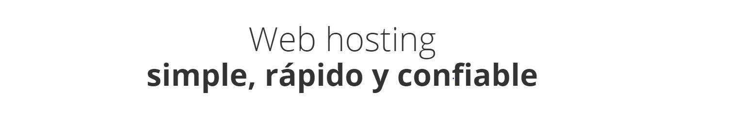 EL hosting Argentina que recomendamos en nuestra eb es eficaz y fácil de utilizar.