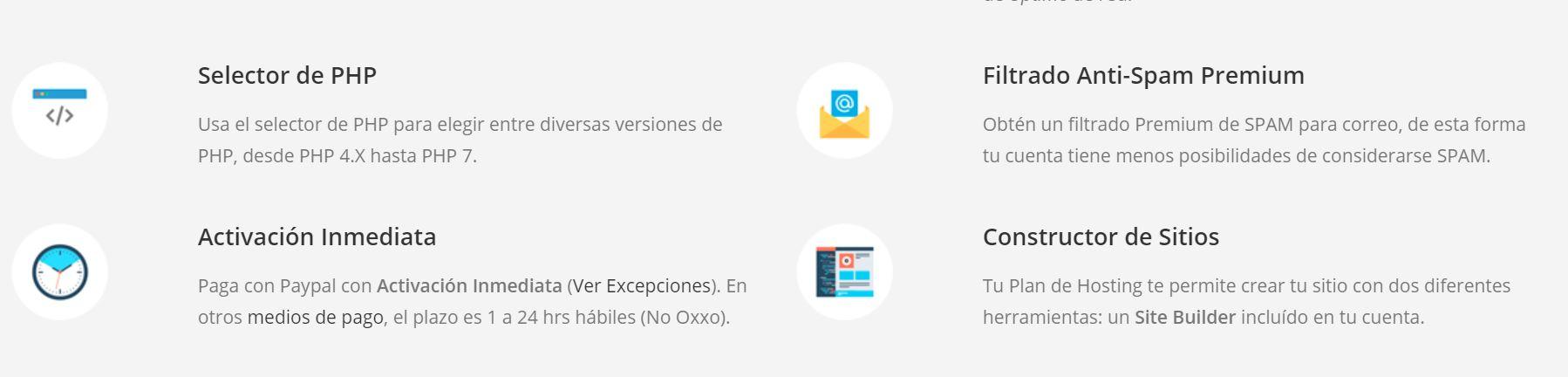 Un hosting Chile ofrece diferentes características y servicios a sus usuarios.