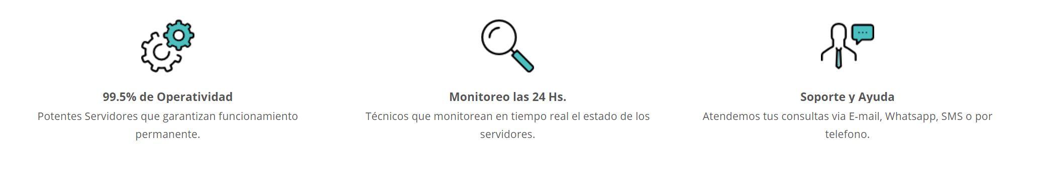 Tendrás soporte técnico en la mayoría de hosting Paraguay del mercado.