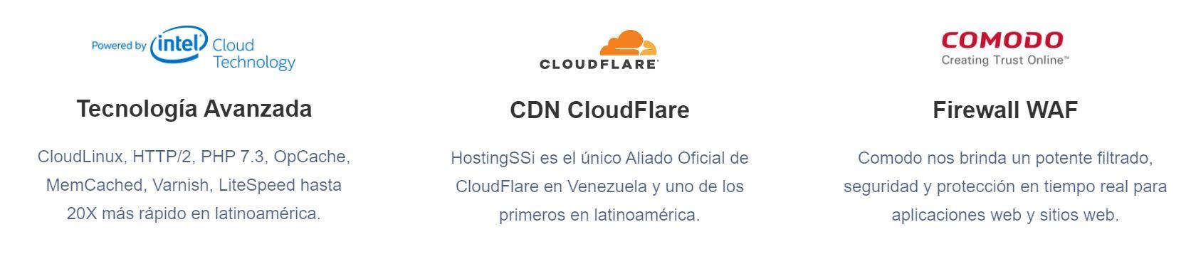 El servicio técnico de los hosting Venezuela es rápido y eficaz.