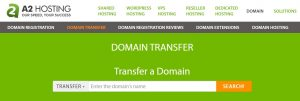 La transferencia de Dominios de A2 hosting es uno de sus servcio más destacados.