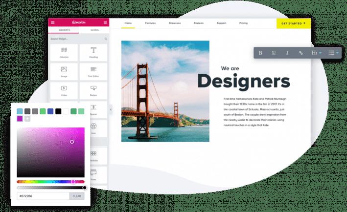Webiste Builder Review Elementor