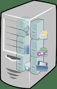 Un hosting web es un espacio donde se almacena información que permite el acceso a la misma mediante Internet