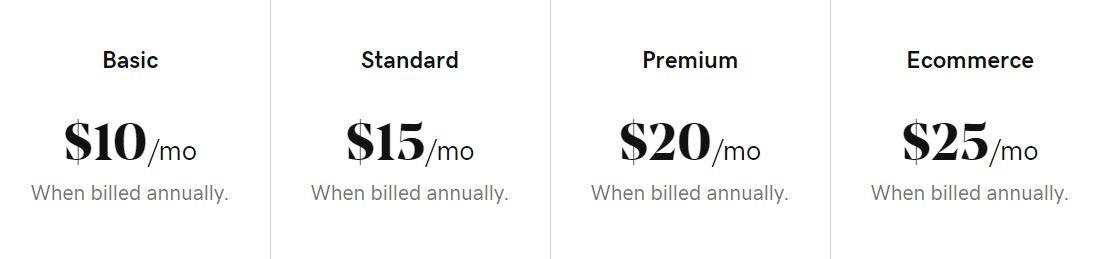 Existen diferentes precios dentro de la gama de editores de páginas.