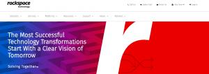 Rackspace ofrece un excelente servicio de alojamiento web