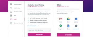 Servicio De Hosting Mail Para Hosting En Australia
