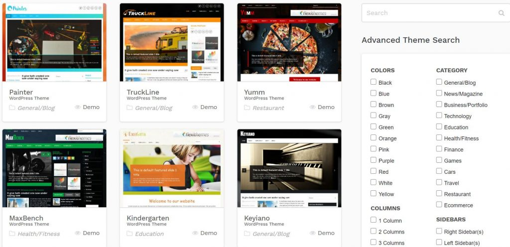 Free WordPress Themes allow you to create an easy and fast website.