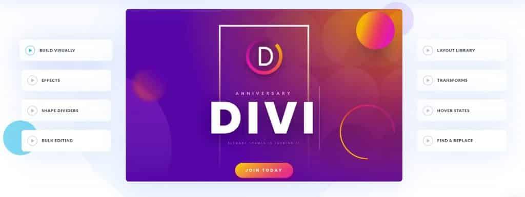Divi Website Builder Features