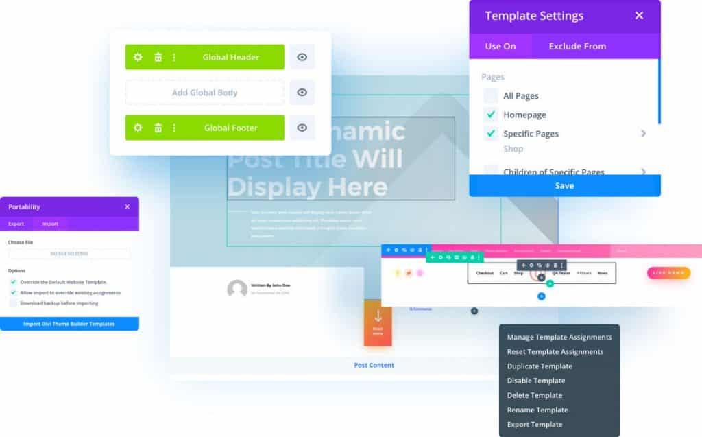 Divi Website Builder Design