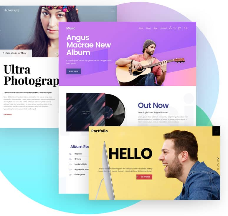 Themify Website Builder Templates