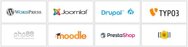 Hostalia ofrece aplicaciones autoinstalables de fácil acceso a sus clientes