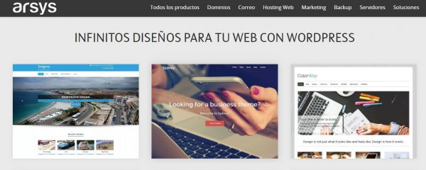 hosting wordpress bases de datos
