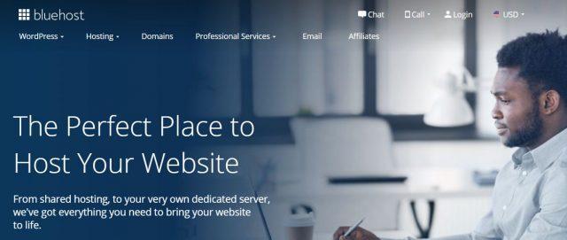 bluehost hosting blog