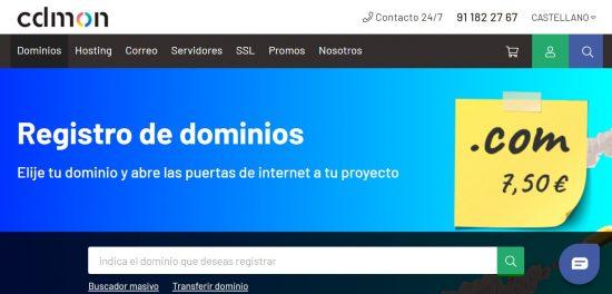 cdmon hosting dominios
