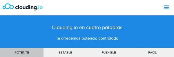 En Clouding podrás configurar tu plan hosting como tú quieras.