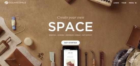 crear sitio con cms squarespace